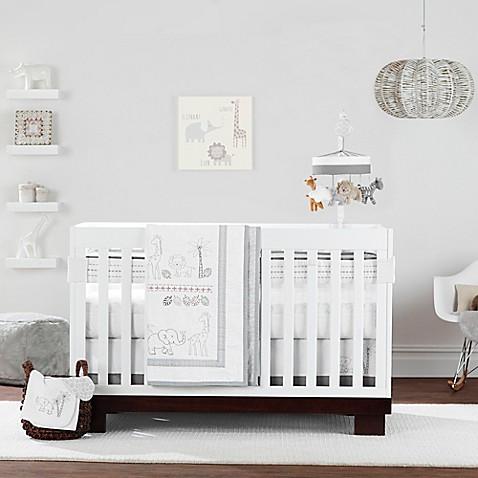 Just born animal kingdom crib bedding collection