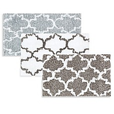 image of Loloi Rugs Grand Luxe Patterned Bath Mat