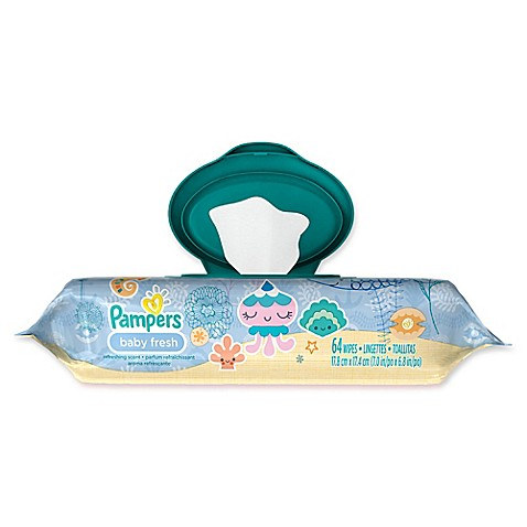 Pampers 174 64 Count Wipes In Baby Fresh Bed Bath Amp Beyond