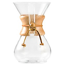 image of Chemex® 6-Cup Pour Over Coffee Maker