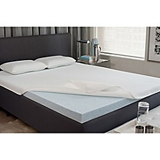 image of viscofresh 2inch gel memory foam mattress topper