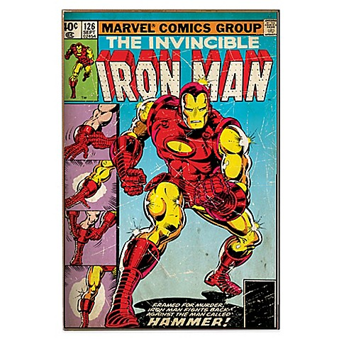 Iron Man Hammer Quot Marvel Comic Book Cover Wall D 233 Cor