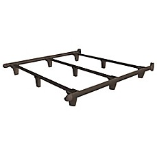 image of naturepedic embrace steel bed frame in brown