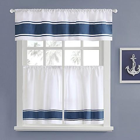 Harbor House Sailor Window Curtain Tier Pair Bed Bath