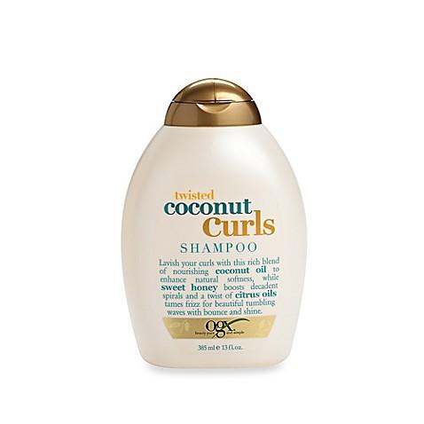 Ogx 174 13 Fl Oz Quenching Coconut Curls Shampoo Bed Bath