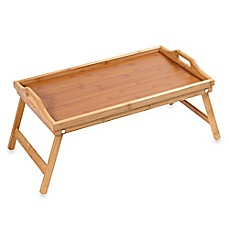 image of Home Basics® Bamboo 18-Inch Bed Tray