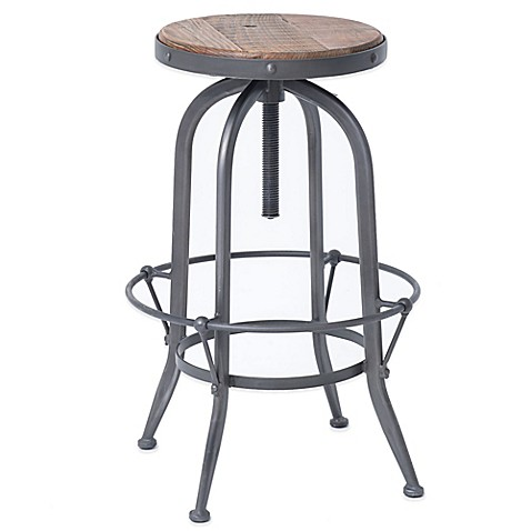 Urban Oasis Stratton Bar Stool In Black Bed Bath Amp Beyond