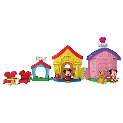 Fisher-Price® Little People® Mickey and Minnie\'s House Play Set ...