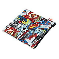 image of Bumkins® DC Comics Superman Large Reusable Snack Bag