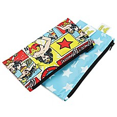 image of Bumkins® DC Comics 2-Pack Wonder Woman Reusable Snack Bags