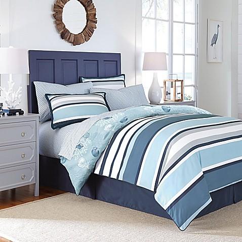 Cabana Stripe Comforter Set Bed Bath And Beyond