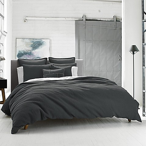 Kenneth Cole Reaction Home Waffle Pillow Sham Bed Bath