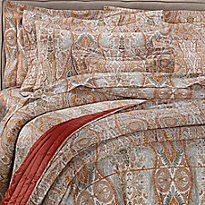 image of Bellino Fine Linens® Paisley Coverlet