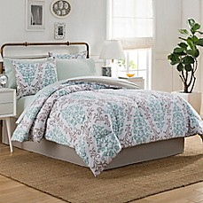 image of Carina Comforter Set in Taupe