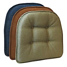 image of Klear Vu Tufted Omega Gripper® Chair Pad  sc 1 st  Bed Bath u0026 Beyond : counter stool covers - islam-shia.org