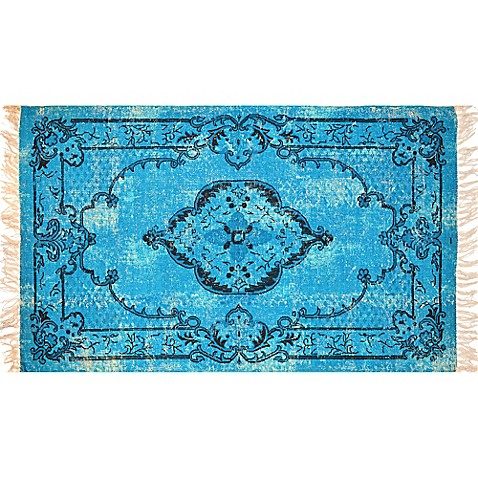 Artisan Printed 2-Foot 6-Inch x 4-Foot Medallion Accent Rug