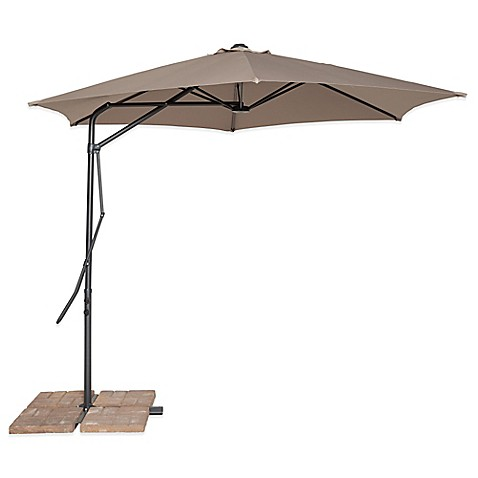 Image Of California Sun Shade® 10 Foot Cantilever Round Umbrella