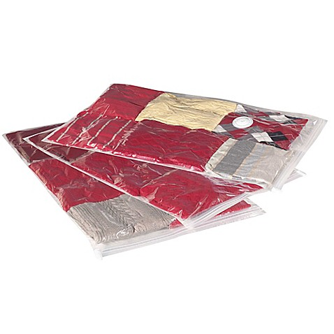Household Essentials® 3-Pack MightyStor Large Flat Vacuum Bags