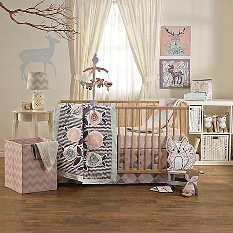 lolli living by living textiles mix match sparrow crib bedding