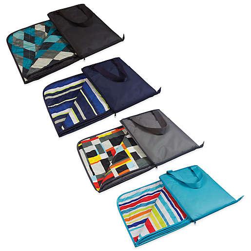 Vista Outdoor Picnic Blanket, Zip Up Outdoor Blanket