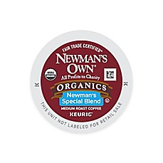 image of K-Cup® 18-Count Newman's Own® Organic Blend Medium Roast Extra Bold Coffee for Keurig®