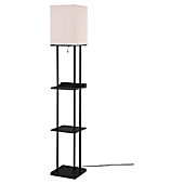 Lovely Equip Your Space Étagère Floor Lamp With Charging Station