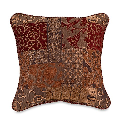Croscill Galleria 18-Inch Square Throw Pillow - Bed Bath & Beyond
