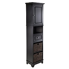 Winsome Trading Wyatt Tall Cabinet