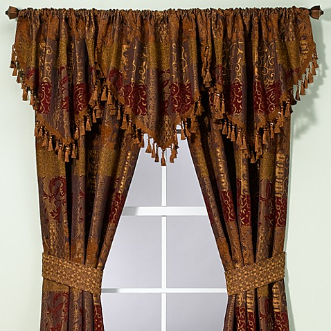 croscill® galleria ascot valance - bed bath & beyond