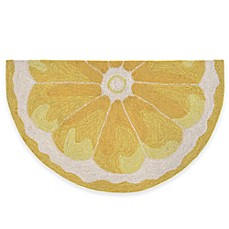 image of Trans-Ocean Lemon Slice Accent Rug