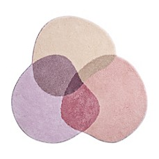 image of Grund® Shambala 4-Foot Round Bath Rug in Pink