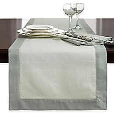 image of Wamsutta® Bordered Linen Table Runner