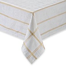 image of Garnier-Thiebaut Tuileries Argent Tablecloth