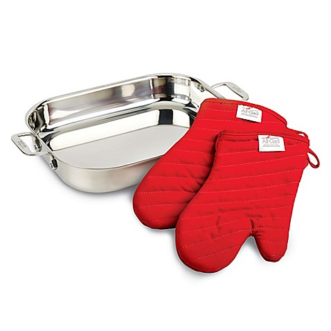 All Clad Stainless Steel Lasagna Pan Gift Set Bed Bath