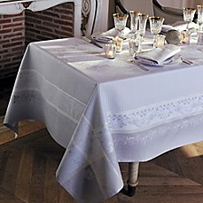 image of Garnier-Thiebaut Perce-Niege Perle Tablecloth