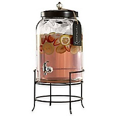 image of Style Setter Franklin 3-Gallon Beverage Dispenser with Stand