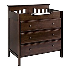 Image Of DaVinci Jayden 3 Drawer Changer Dresser In Espresso
