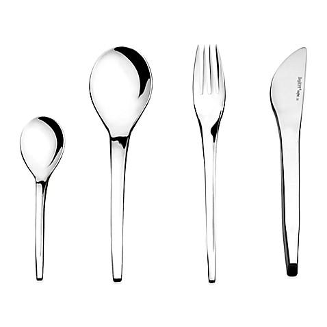 Buy berghoff zeno 24 piece flatware set from bed bath for Zeno kitchen set