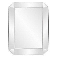 image of howard elliott 54inch x 74inch sybil octagonal mirror in