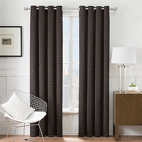 Image Of Times Square Grommet Window Curtain Panel