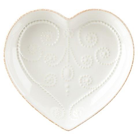 heart shaped dish plate