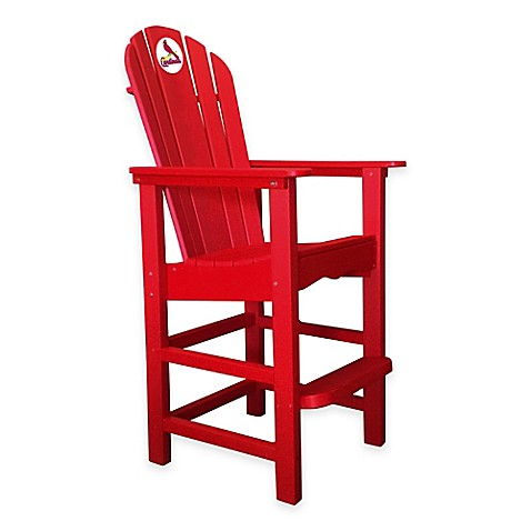 Buy MLB St Louis Cardinals Pub Captains Chair In Red From