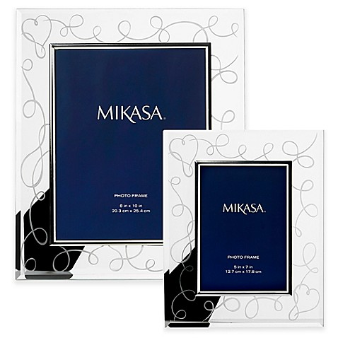 mikasa love story crystal picture frame - Mikasa Picture Frames
