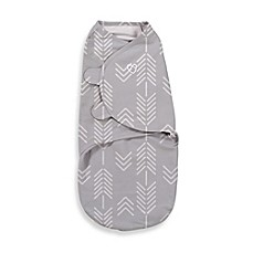 image of SwaddleMe® Small/Medium Original Swaddle Arrows Swaddle in Grey