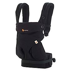image of Ergobaby™ Four-Position 360 Baby Carrier in Pure Black
