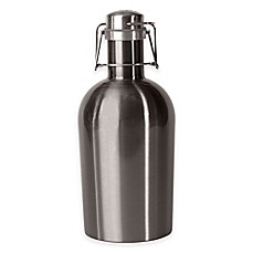ASOBU Stainless Steel Beer Growler in Silver