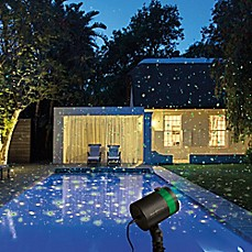 image of star shower laser light - Outdoor Christmas Decorations