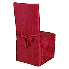 Image Of Christmas Ribbons Dining Room Chair Covers And Placemats