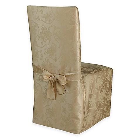 christmas dining room chair covers | Christmas Ribbons Dining Room Chair Covers and Placemats ...