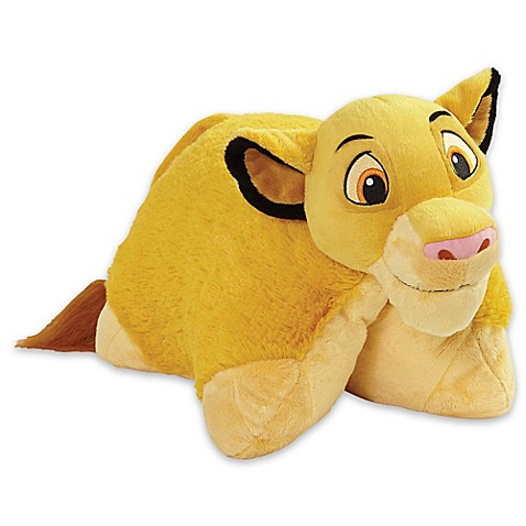 Disney Animal Pillow Pets : Pillow Pets Disney Simba Folding Pillow Pet - Bed Bath & Beyond